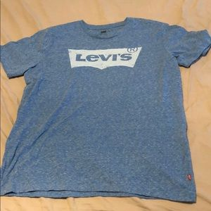 Levi's size large blue t shirt